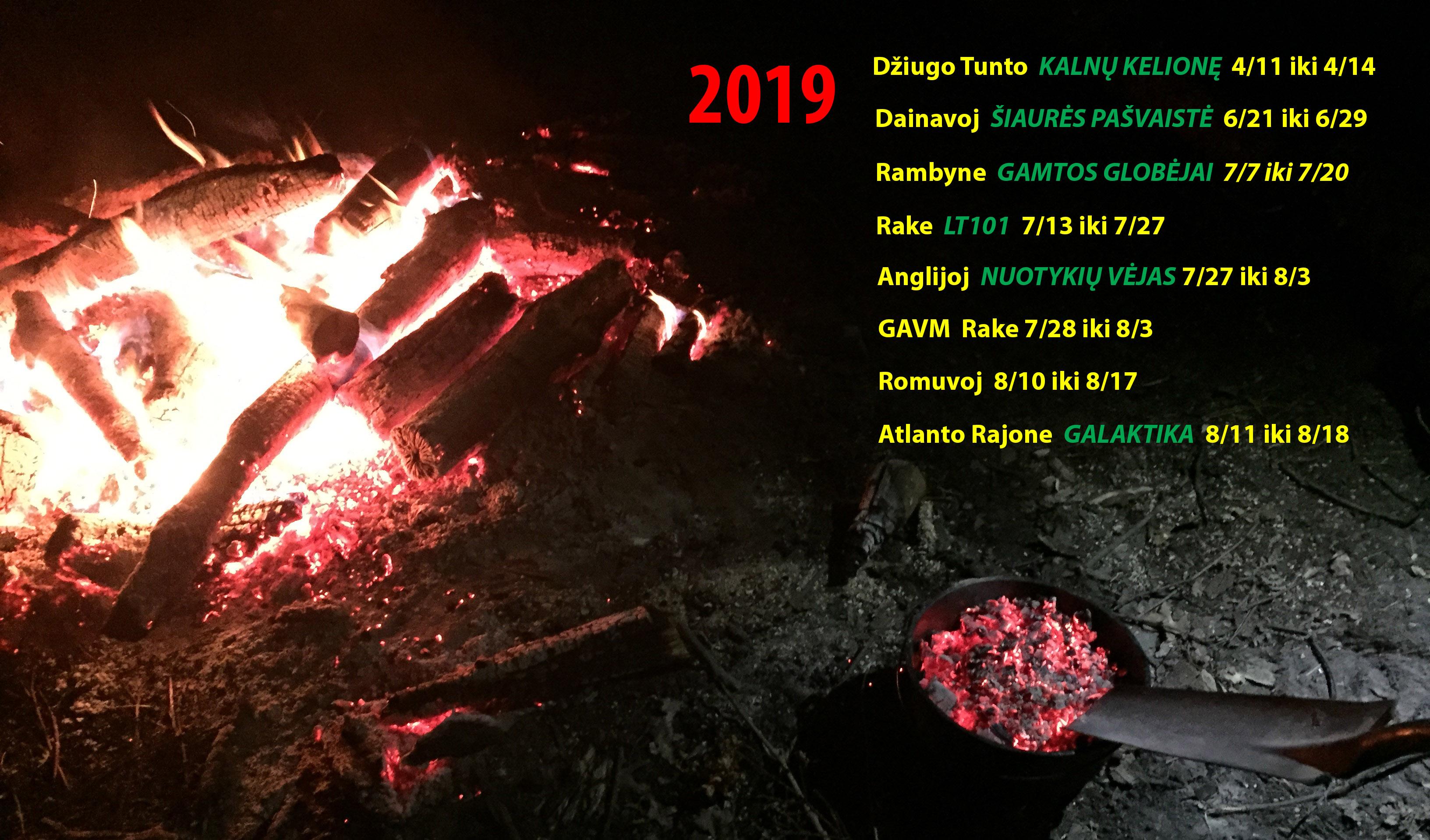 Skautu Stovyklos 2019